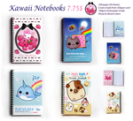 Kawaii notebooks by tho-be