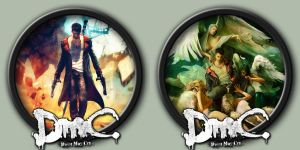 Devil May Cry Icons by kodiak-caine
