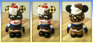 Vinylmation 3'' Ghirardelli Custom by StephanieCassataArt