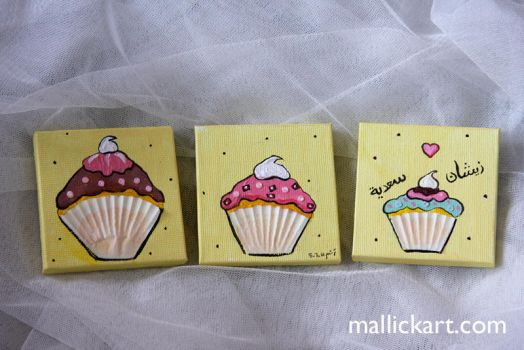 cupcakes for saadia by whisperedpeace