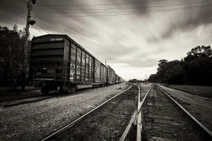 The Divided Tracks by TMPhotographia
