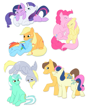 Theme song couples by Arcticwaters