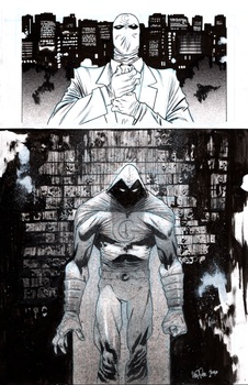 Moon Knight by JHarren