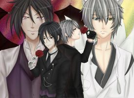 S.M. : Demon Butlers by Jibari-chan
