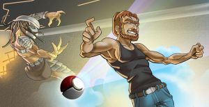 Progg Summons Chuck Norris by chrisbeaver