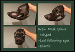 Resin Mask Blank 1 by Gretters