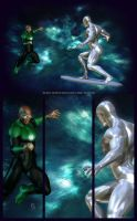 SilverSurfer-vs-GreenLantern by patokali