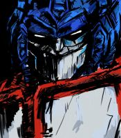 optimus prime by danyart84