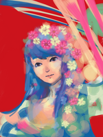 Queen of Flowers by bhakri