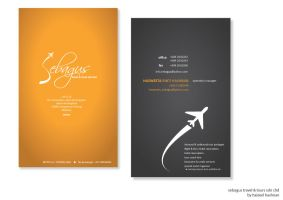 Sebagus Travel Business Card by Haizeel