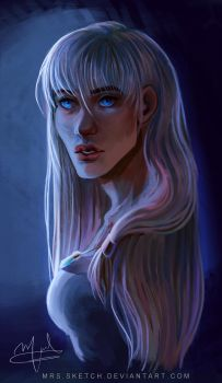 Kida Portrait by Mrs-Sketch