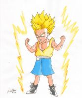Commission: Ssj kid trunks by nial09