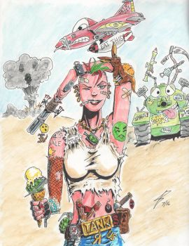 Tank Girl by coyote117