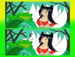 Ahri moment by Furryknightlover