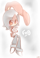 Fog the Rabbit by GrumpyBuneary