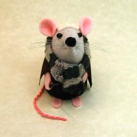 Draco Malfoy Mouse by The-House-of-Mouse