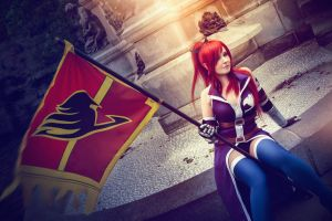 Erza Scarlet-Grand Magic Games by SCARLET-COSPLAY