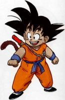 Kid Goku by DannyFCool