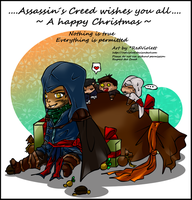 ACR - Wish a happy Christmas by RedViolett