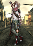 Tsundere of the Wastes by Okallu