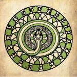 Celtic Snake by catgirl123