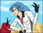 Giant Grimmjow vs. Ichigo by Jessica-Rae-3