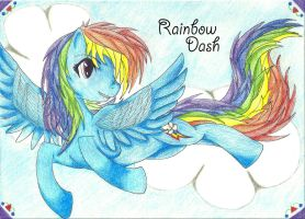 Rainbow Dash by AngieDraco