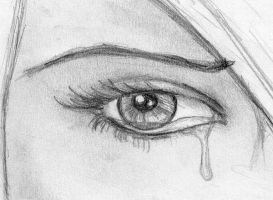 crying eye close up by passionatelifeliver
