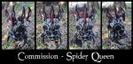 Spider Queen Leather Mask by Epic-Leather