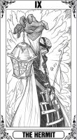 KH-Tarot: The Hermit by Autumn-Sacura
