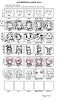 Expression Meme by jellification