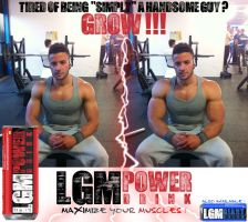 LGM Power (handsome guy 2) by LinkinGiantMorphs