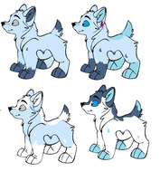 Pups for 1adopts1 by wolf-wishes