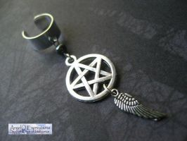 Supernatural Angel Ear Cuff by SpellsNSpooks
