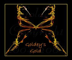 Goldey's Gold Butterfly by Goldey--Too