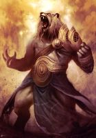 Ajani Goldmane by Blues-Design