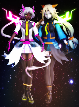 .:UNITY-CHAN! x VOCALOID:. by Pokeluver223