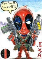 Deadpool ATC Two Back by DKuang