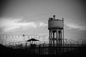 Water Tower, Vignette by baby-drummer23