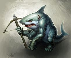 Sharky by SkoLzki