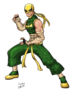 Ultimate Iron Fist by ReiganCross