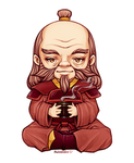 Uncle Iroh [Chibi] by Nukababe