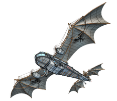 Steam Dragon 03 PNG Stock by Jumpfer-Stock