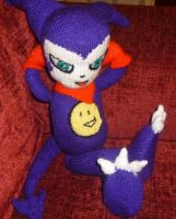 Hand Knitted Impmon by TangledMangle
