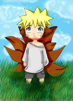 Young Uzumaki Naruto by stayin-strong