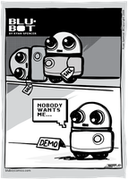 Blu-BOT: 02 - Nobody by bluBoyComics