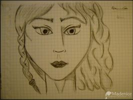 Woman 1 by Madenice