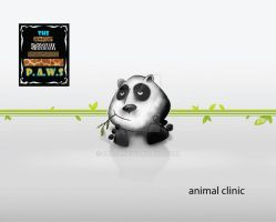 Visiting card: Animal clinic by 2BA-d