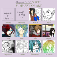 2012 Art Summary by paupourii