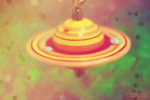 Saturn's Rings by YasminNich